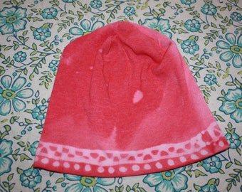 Pink Pull On Baby Cap