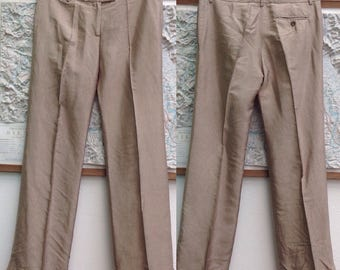 Silk trousers. Made in Italy. Alberto Biani pants.