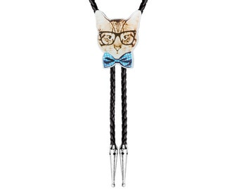 Bolo Ties - Cats with Bow-ties