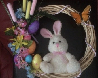 Peter Cotton Tail wreath