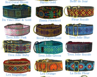MARTINGALE DOG COLLAR - For Greyhound or similar - Or ask us for custom Request