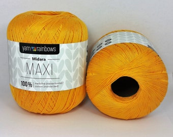 Cotton 100% , mercerized, thread #10, made in Lithuania
