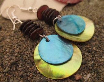 Shell Beach Ocean Earrings
