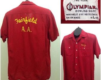 Original 50's Vintage Bowling shirt