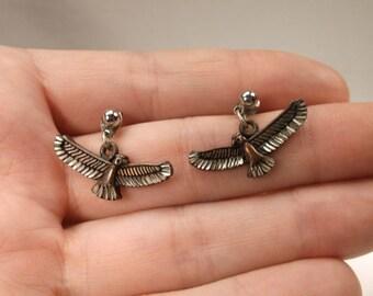 Beautiful Vintage Copper Eagle Southwestern Drop Stud Earrings SW 20% OFF Entire Order Code JRS20