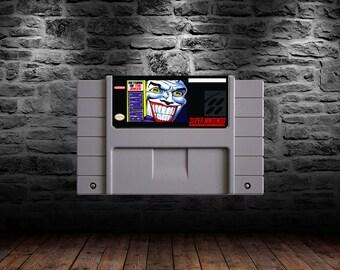 Batman Return of the Joker - Comic Book Action with a Laugh - SNES