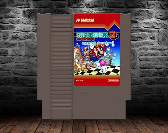 Super Mario Bros. 3 Chaos Control - Relive Super Mario Bros 3 in an whole New Way - NES