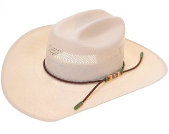 how to make a braided leather hat band