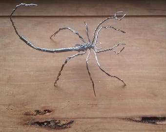 Wire Insect Sculpture