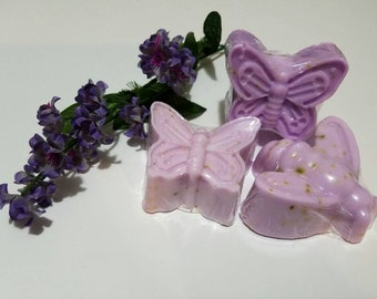 Butterflies and Bee Lavender Soaps 3 for 8.00
