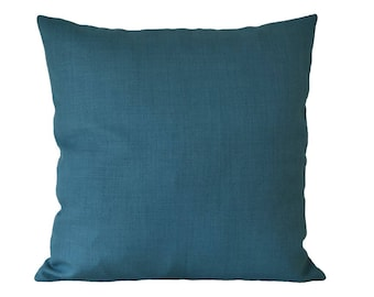 Turquoise pillow-cover, quality furnishing-fabric, 50x50 cm/ 19,7x19,7 inch, for decorative pillow