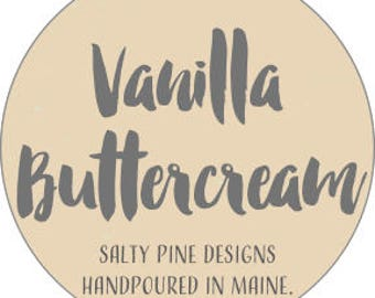 Vanilla Buttercream Soy Candle (Amalie Candle Co)