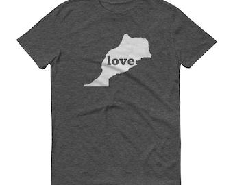 Morocco, Moroccan Clothing, Morocco Shirt, Morocco T Shirt, Morocco TShirt, Morocco Map, Moroccan Gifts, Made in Morocco, Morocco Love Shirt
