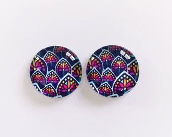 The 'Annabel' Glass Earring Studs