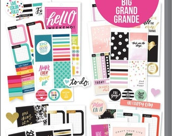 BIG Value Pack Stickers - Color Story - MAMBI Happy Planner PPSV13