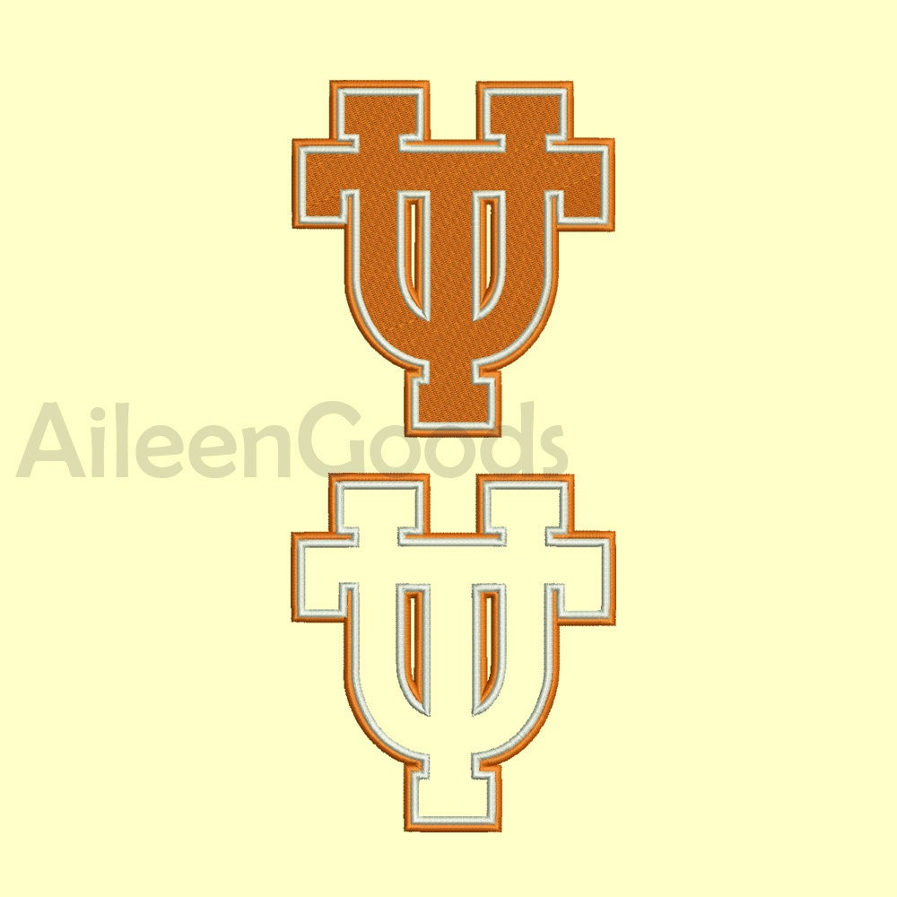 Texas State University Embroidery Design