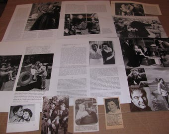 CLAUDETTE COLBERT   #8  CLIPPINGS  #0308