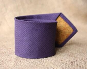 Tie purple
