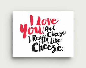 Scotch + Roux | CHEESE Greeting Card
