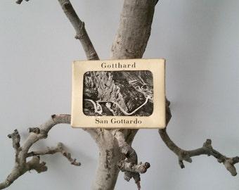 Set Old photo cards 'Gotthard, San Gottardo'