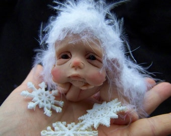 OOAK Snowflake  Elf by Malga