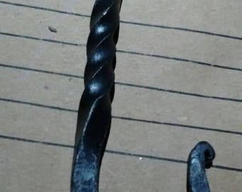 Hand Forged Driver Hook (pair)