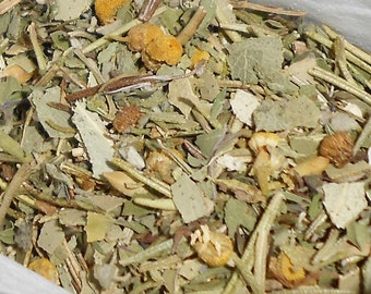 Relaxing Bath Tea-Headache Relief Blend-Bath Tea-Organic Herbs