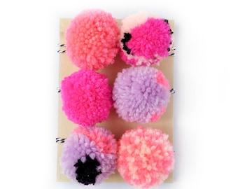 Pom Pom Set - Pinks