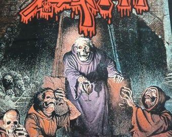 Classic Death - Scream Bloody Gore  T shirt - Massacre,Entombed,Autopsy,Carcass.