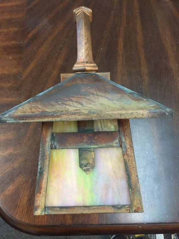 Arts And Crafts Mission Outdoor Light