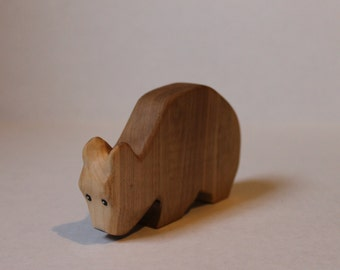 Wooden Bear// Waldorf Style//Natural Toys