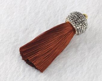 Tassels DIY Craft Supplies Jewelry tassels Chunky tassel Short Boho tassels Small tassels Fringe Trim Womens Gift