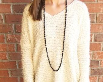 Lyssa wrap necklace