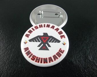 Anishinaabe Button