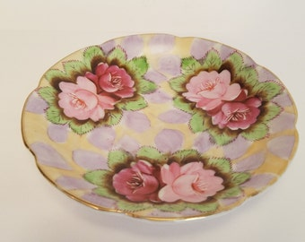 Celebrate - Made in Occupied Japan - Rare Saucer Pattern