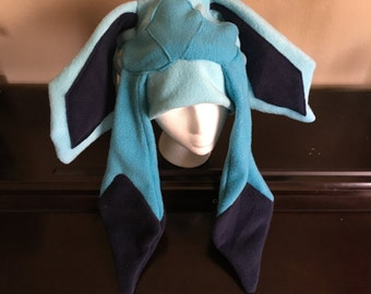 Pokemon Eeveelution Glaceon Fleece Hat