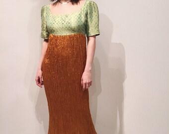 Callaghann brocade dress
