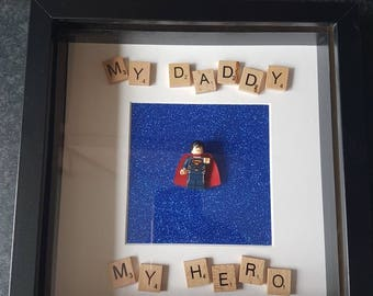 Superhero Daddy Picture Frame