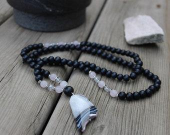 Crystal Mala Necklace