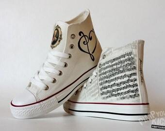 Johan Sebastian Bach custom shoes