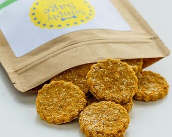 Carrot All-Natural  Homemade Dog Treats - Vegan and Gluten Free Dog Treats -  Carrots and Rooibos Tea