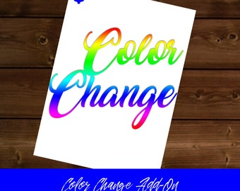 Color Change Option