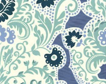 Sandi Henderson Secret Garden Grand Tapestry Mignight Fat Quarter