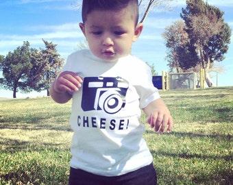 Kids camera shirt