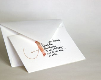 Greeting card to the birth