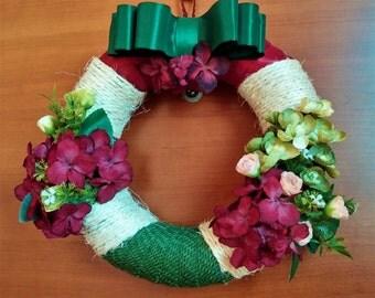 Decorative door wreath