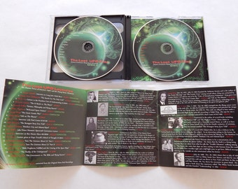 Exclusive UFO MP3 Audio CD Compilation - The Lost UFO Lectures - Presented by Junas Comics - 1950's Contactee's tell their tales of contact