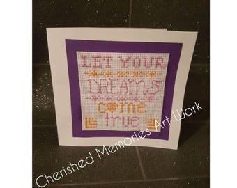 Let Your Dreams Come True card