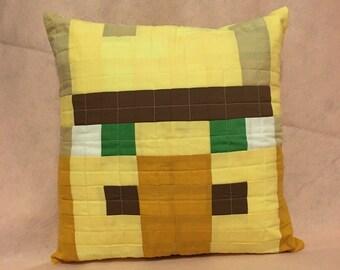 Minecraft Inspired Pillow