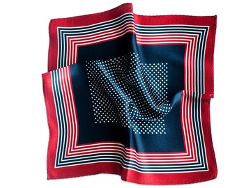 Silk Pocket Square American Dream